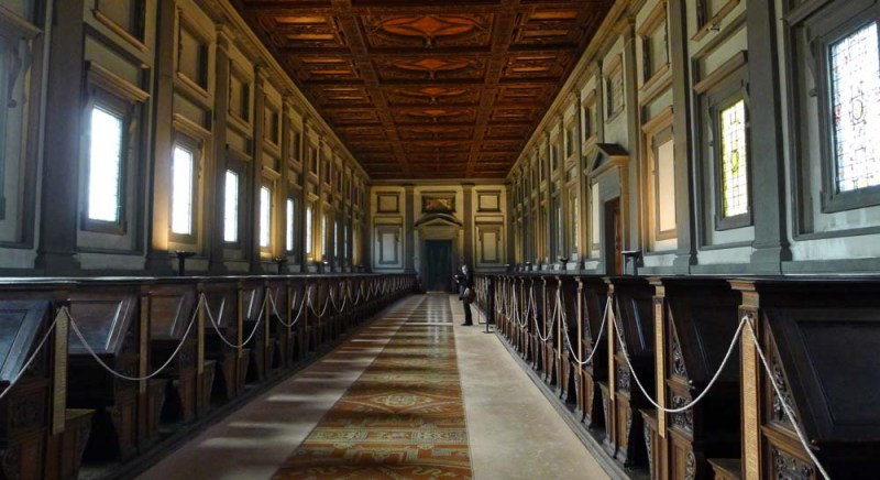 Laurentian LIbrary by Michelangelo