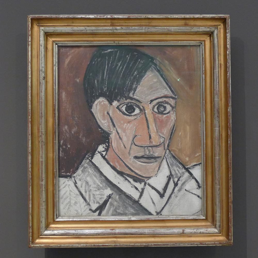 "Pablo Picasso ""Self-Portrait"" 1907"