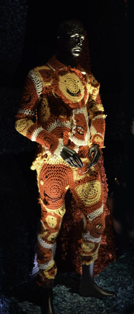 Crochet man
